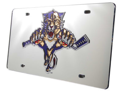 Florida Panthers Acrylic Laser Tag