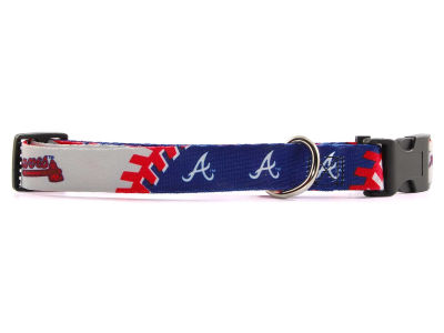 Atlanta Braves Large Dog Collar