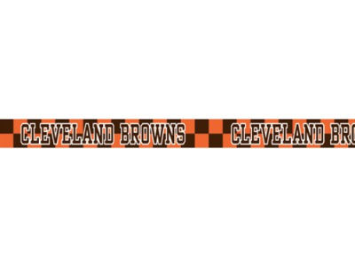 Cleveland Browns Large Dog Collar