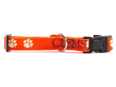 Clemson Tigers Large Dog Collar