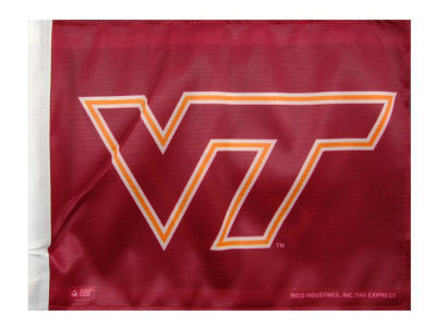 Virginia Tech Hokies Car Flag
