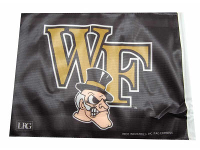 Wake Forest Demon Deacons Car Flag