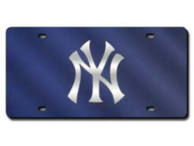 New York Yankees Acrylic Laser Tag