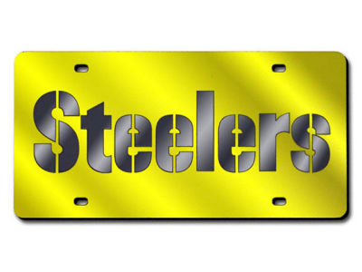 Pittsburgh Steelers Acrylic Laser Tag