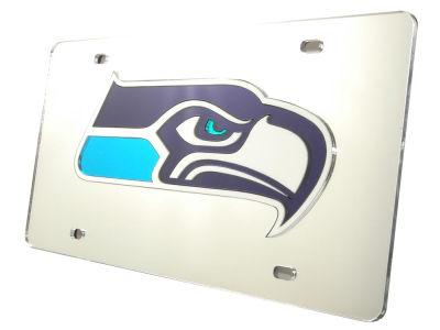 Seattle Seahawks Acrylic Laser Tag