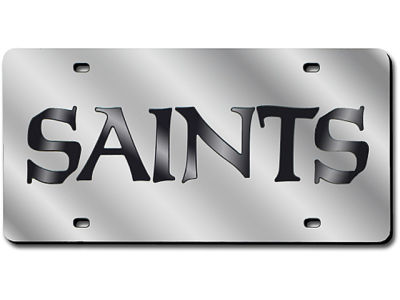 New Orleans Saints Acrylic Laser Tag