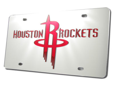 Houston Rockets Acrylic Laser Tag