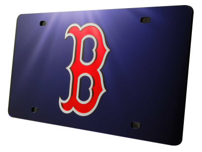 Boston Red Sox Acrylic Laser Tag