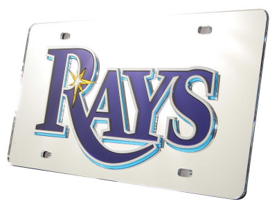 Tampa Bay Rays Acrylic Laser Tag