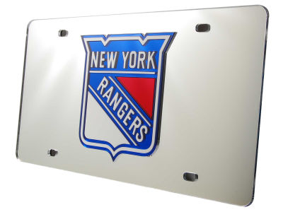 New York Rangers Acrylic Laser Tag