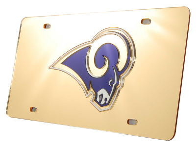 Los Angeles Rams Acrylic Laser Tag