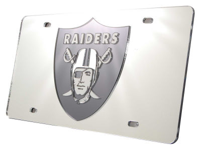 Oakland Raiders NFL License Plates   Frames  cc983eb4ae