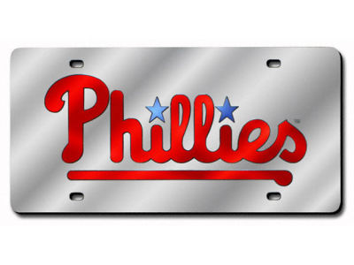 Philadelphia Phillies Acrylic Laser Tag