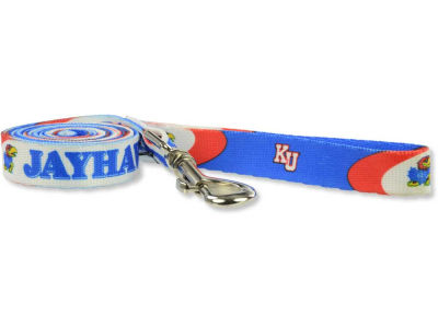 Kansas Jayhawks 6ft Dog Leash