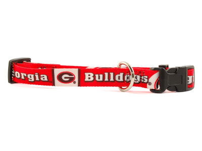 Georgia Bulldogs Medium Dog Collar