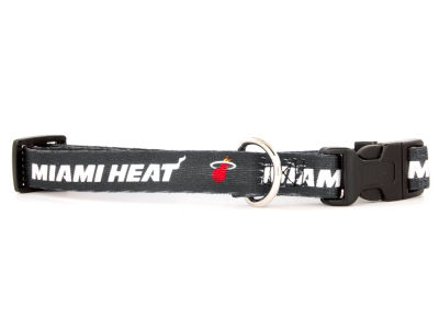 Miami Heat Medium Dog Collar