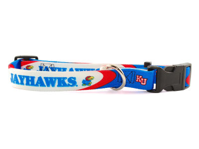 Kansas Jayhawks Medium Dog Collar