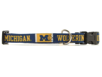 Michigan Wolverines Medium Dog Collar