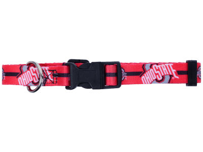 Ohio State Buckeyes Medium Dog Collar