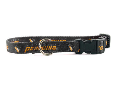 Pittsburgh Penguins Medium Dog Collar