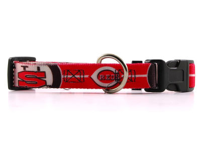 Cincinnati Reds Medium Dog Collar