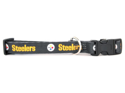 Pittsburgh Steelers Medium Dog Collar
