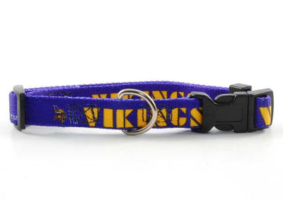 Minnesota Vikings Medium Dog Collar