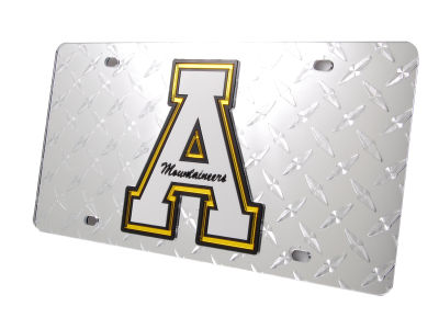 Appalachian State Mountaineers Diamond Acrylic Laser Tag