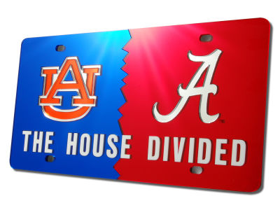 Auburn Tigers House Divided Laser Tag