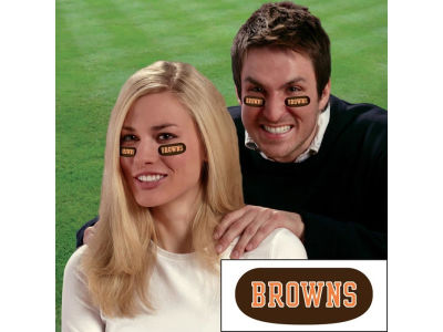 Cleveland Browns Team Eyeblack Strips