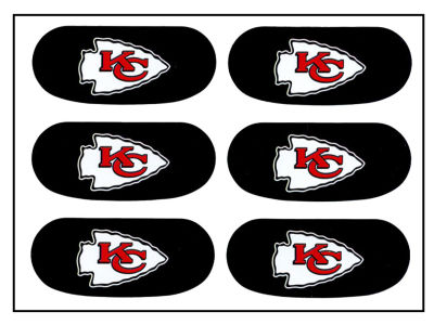 Kansas City Chiefs Team Eyeblack Strips