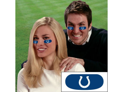 Indianapolis Colts Team Eyeblack Strips