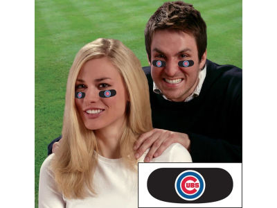 Chicago Cubs Team Eyeblack Strips