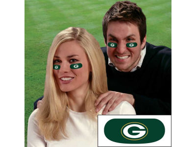 Green Bay Packers Team Eyeblack Strips