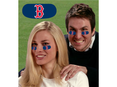 Boston Red Sox Party Animal Team Eyeblack Strips