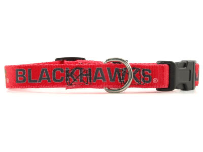 Chicago Blackhawks Small Dog Collar