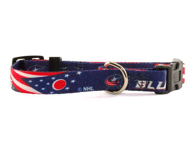 Columbus Blue Jackets Small Dog Collar