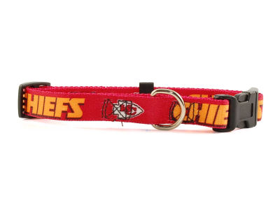 Kansas City Chiefs Small Dog Collar