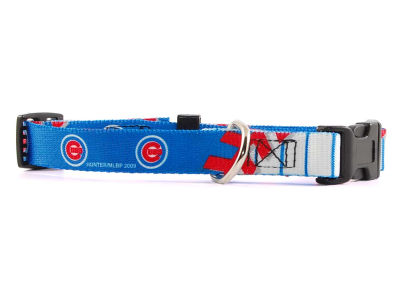Chicago Cubs Small Dog Collar