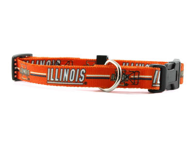 Illinois Fighting Illini Small Dog Collar