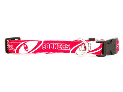 Oklahoma Sooners Small Dog Collar