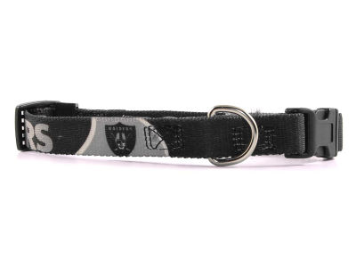 Oakland Raiders Small Dog Collar