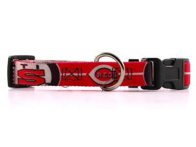 Cincinnati Reds Small Dog Collar