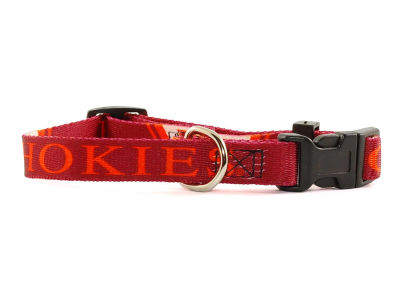 Virginia Tech Hokies Small Dog Collar