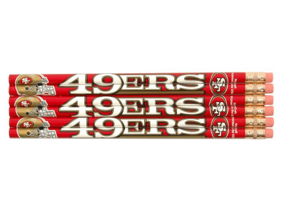 San Francisco 49ers 6-pack Pencils