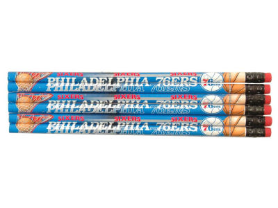 Philadelphia 76ers 6-pack Pencils
