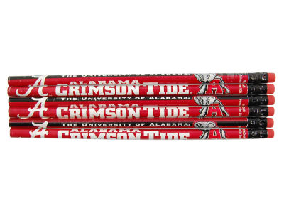 Alabama Crimson Tide 6-pack Pencils