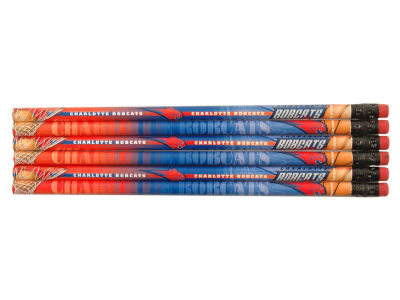 Charlotte Bobcats 6-pack Pencils