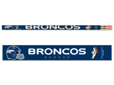 Denver Broncos 6-pack Pencils