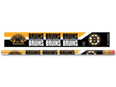 Boston Bruins 6-pack Pencils